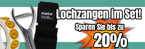 Lochzangen im Set