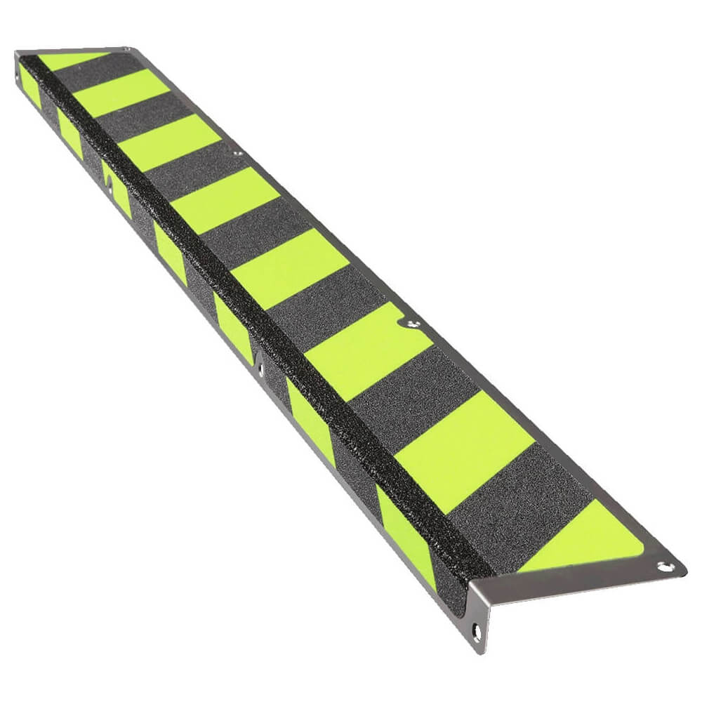 dc3afd2970709e Antirutsch Treppen-Stufen-Profil lang nachleuchtend/schwarz, 11x100x3 cm