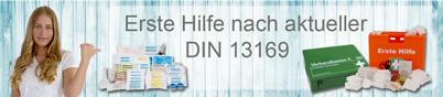 Erste Hilfe gemäß der Norm DIN 13169