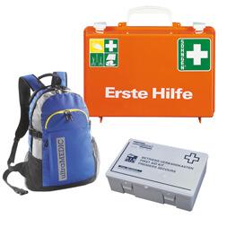 Erste Hilfe Koffer und Verbandskästen