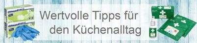 Verletzungsgefahr in der Küche – Erste Hilfe Tipps