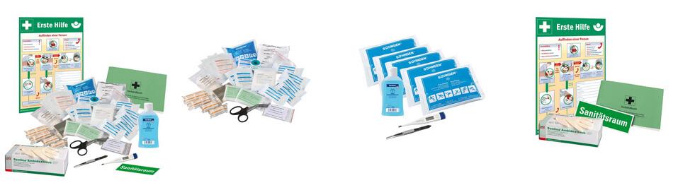 TMS Sanitätsraum Set