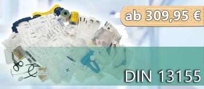 Komplette Nachfüllsets für Erste Hilfe Koffer & Verbandschränke nach DIN 13155