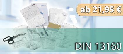 Erste- Hilfe- Nachfüllset DIN 13160, für Erste- Hilfe- Rucksack und Sanitätstasche