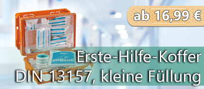 Erste-Hilfe-koffer nach DIN und ASR