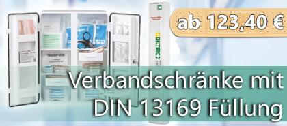Erste Hilfe Schrank nach DIN 13169