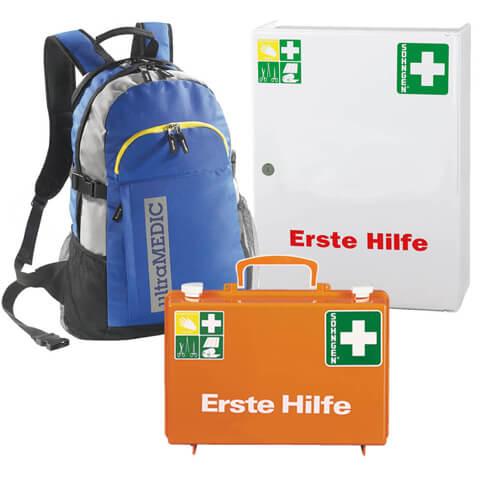Erste Hilfe Koffer & Verbandschränke