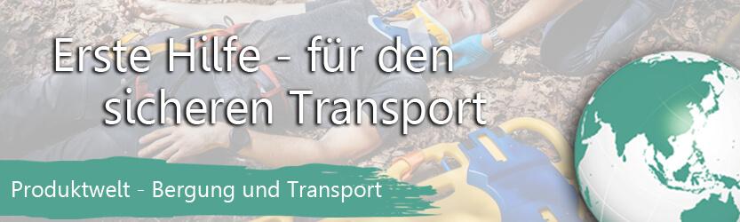 Produktwelt: Bergung und Transport