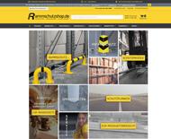 Screenshot Rammschutzshop.de
